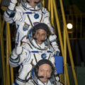 Expedition 53 Crew Waves Farewell