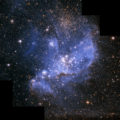Hubble finds infant stars in neighbouring galaxy