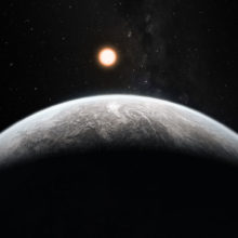 Artists's impression of one of more than 50 new exoplanets fou
