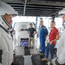 SpaceX Dragon Crew Extraction Rehearsal