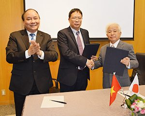 Party led by Deputy Prime Minister Phuc of Vietnam visited TKSC on Oct. 10