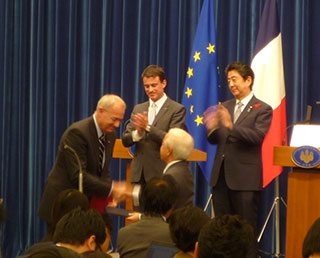 Revision of the Mutual Cooperation Agreement between JAXA and CNES