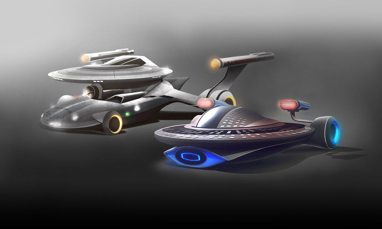 Star Trek Cars