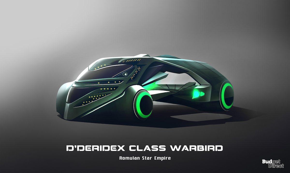 D'Deridex Class Warbird