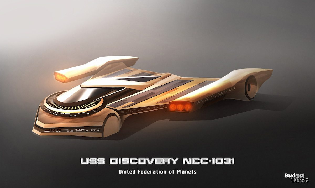 USS Discovery NCC-1031
