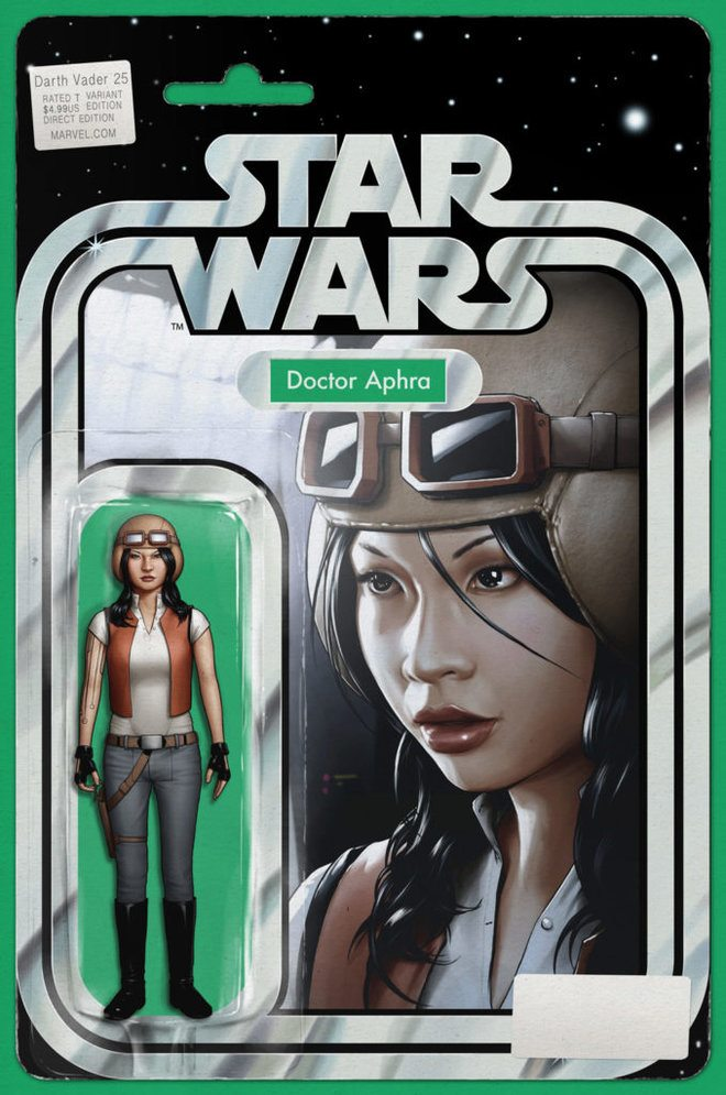 Doctor Aphra Gets a Unique 'Star Wars' Action Figure