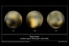 Hubble Space Telescope photo of Pluto is most detailed ever seen.