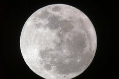 Full Moon over Long Beach, CA