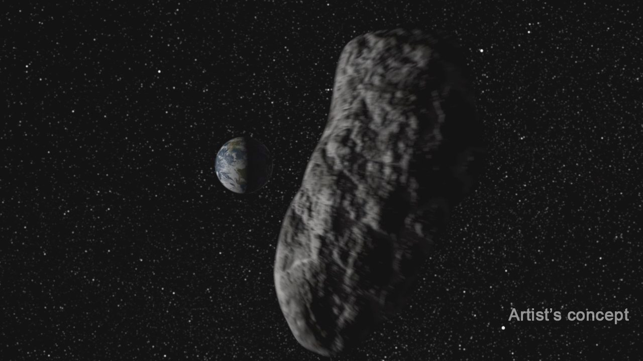 An asteroid is about to crash into Earth.