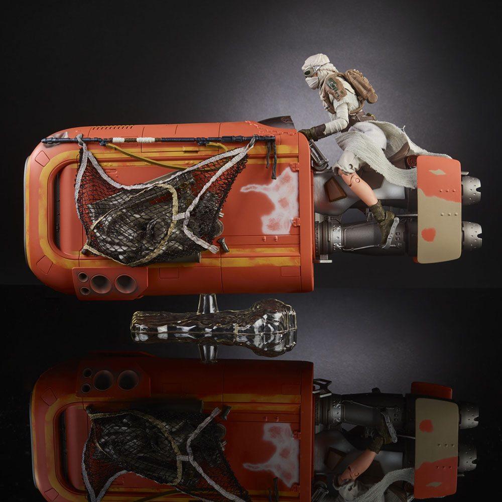 Black Series: Rey and her speeder