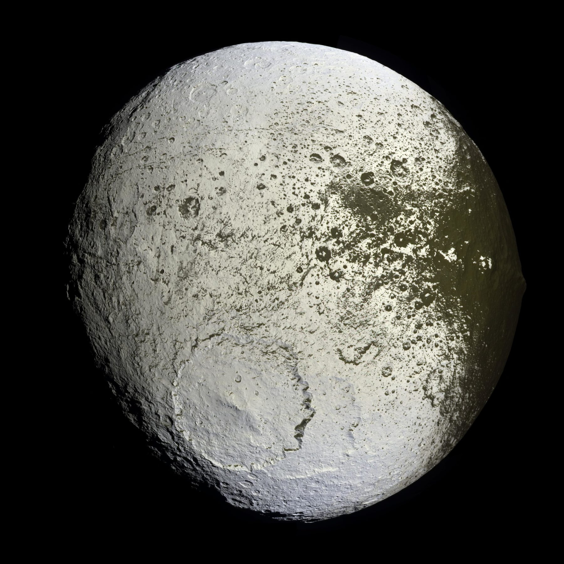 The moon Iapetus is an alien Death Star.
