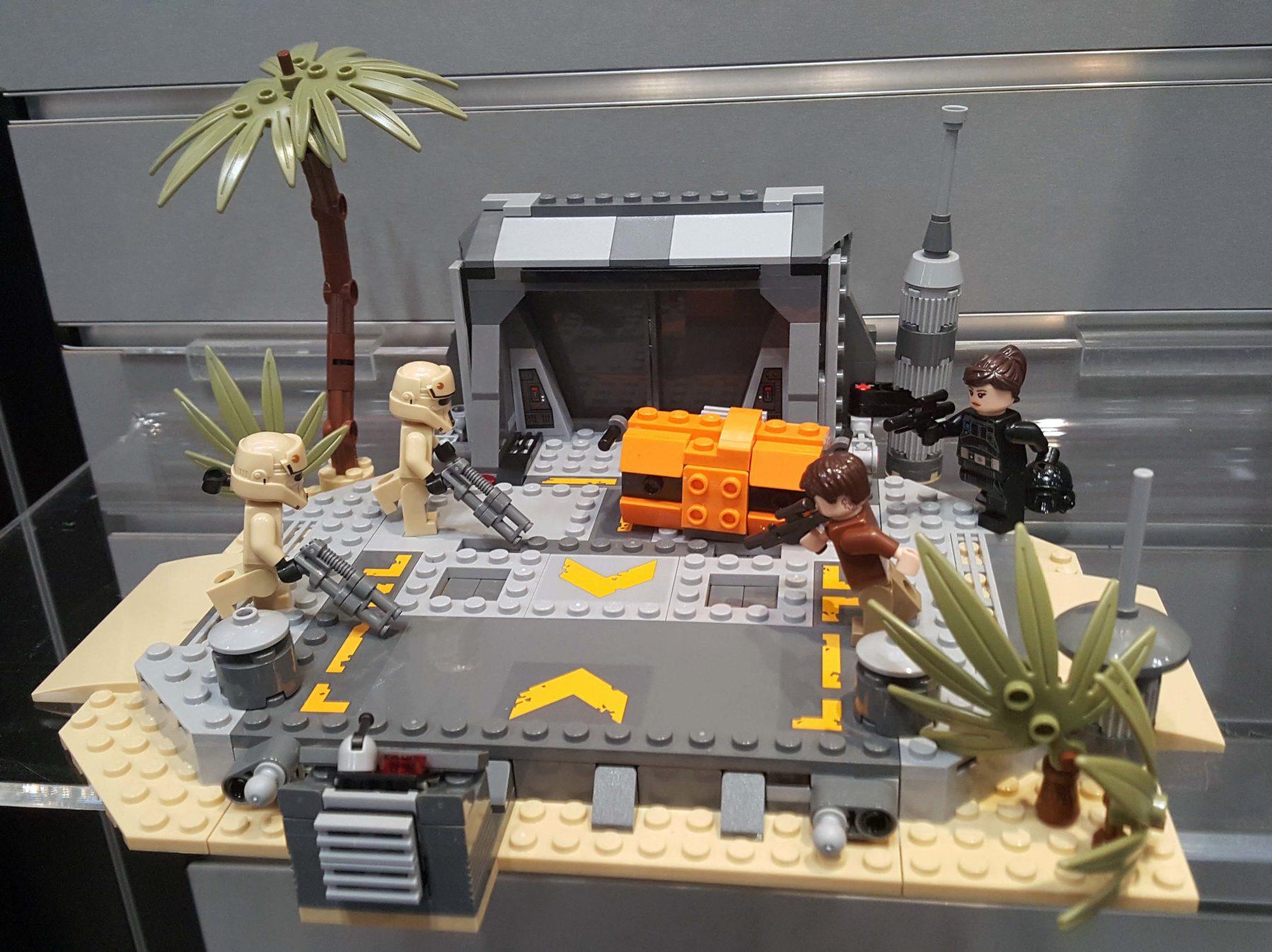 Lego Battle on Scarif