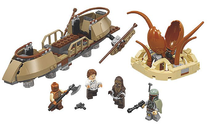 Lego Desert Skiff Escape