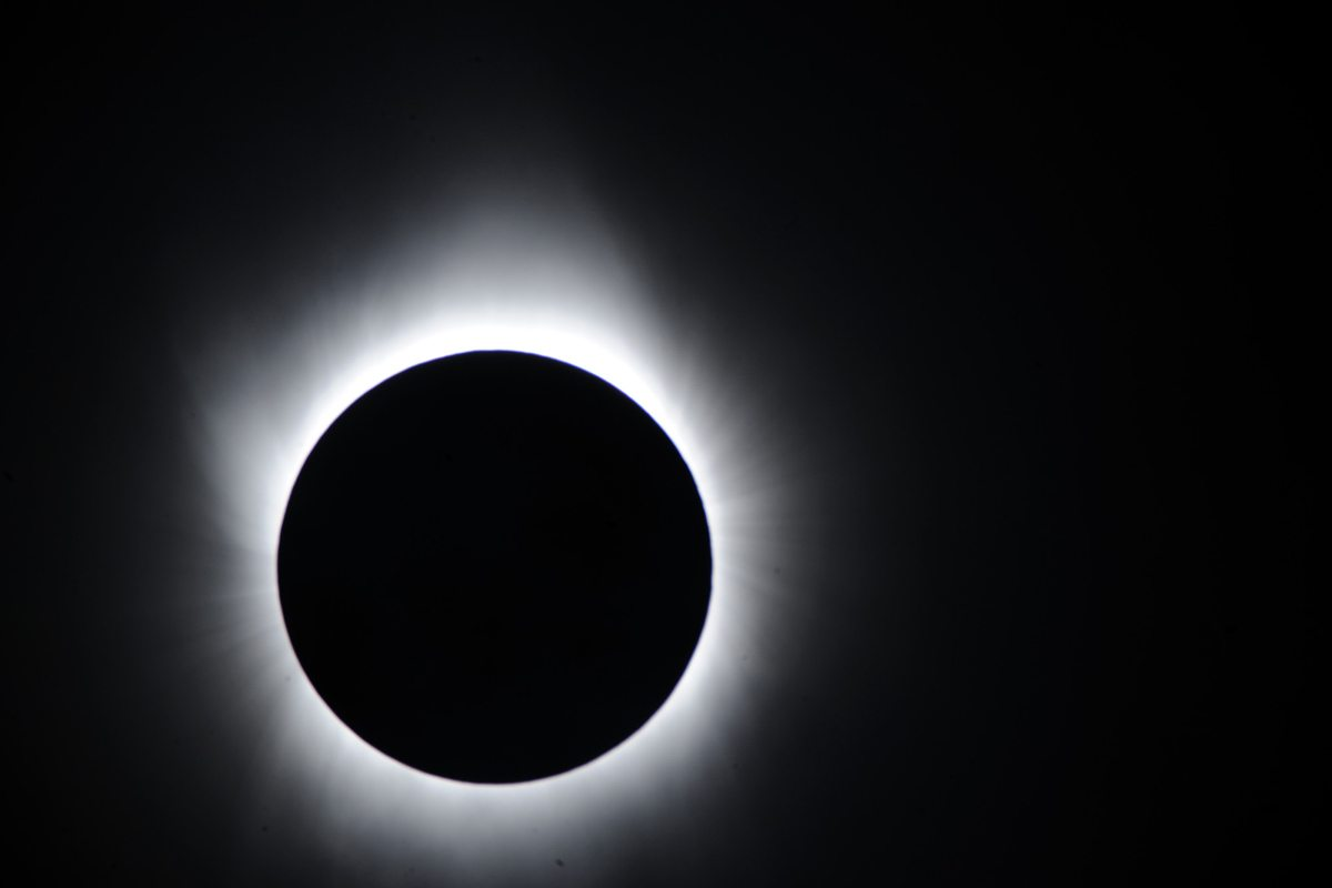 Total Solar Eclipse from Iwo Jima, Japan