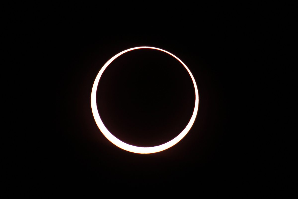 Annular Cclipse from Grand Canyon National Park