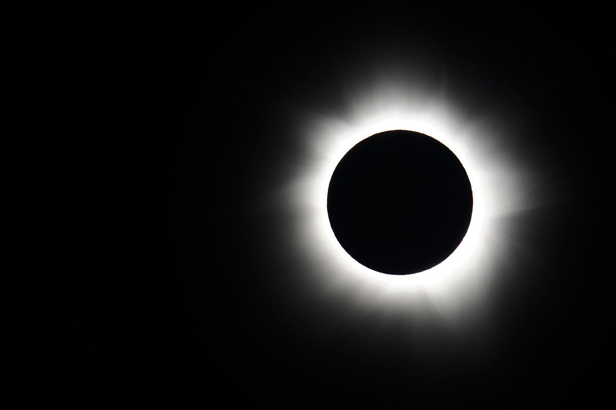 Totality in Palm Cove