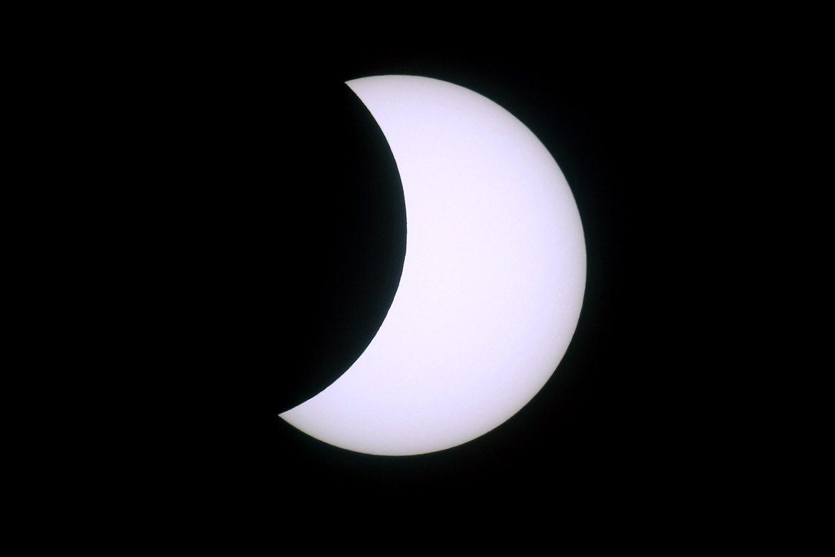 Partial Eclipse near Penzance, England
