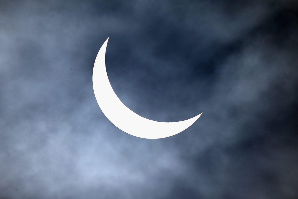 Partial Solar Eclipse at Northampton, England