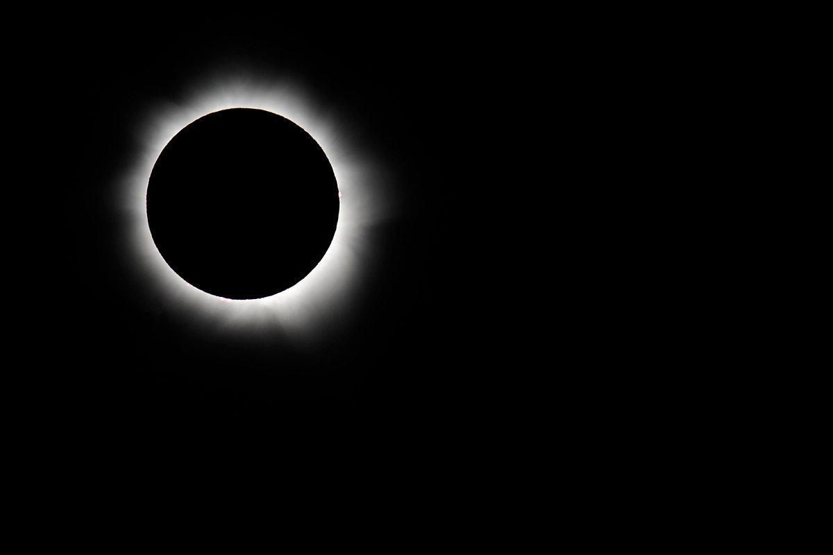 Totality at Palm Cove, Australia