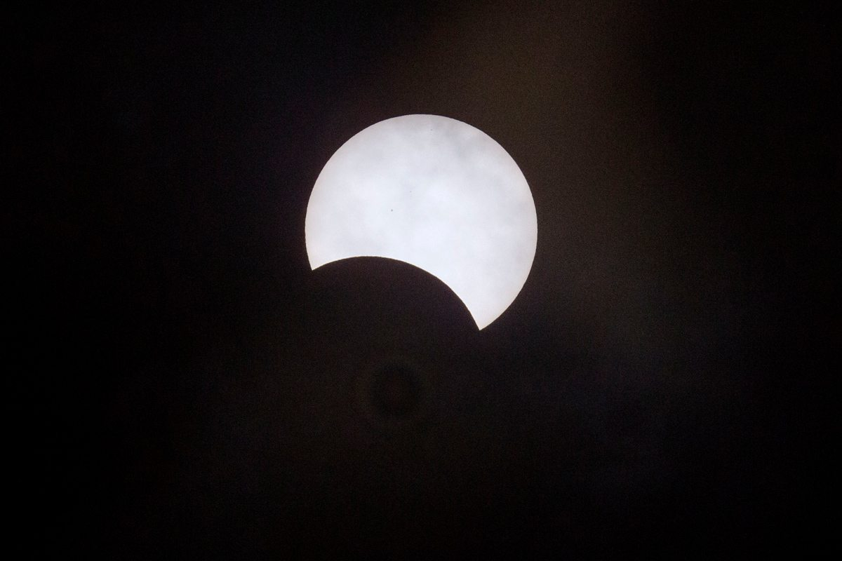 Total Solar Eclipse from Palembang