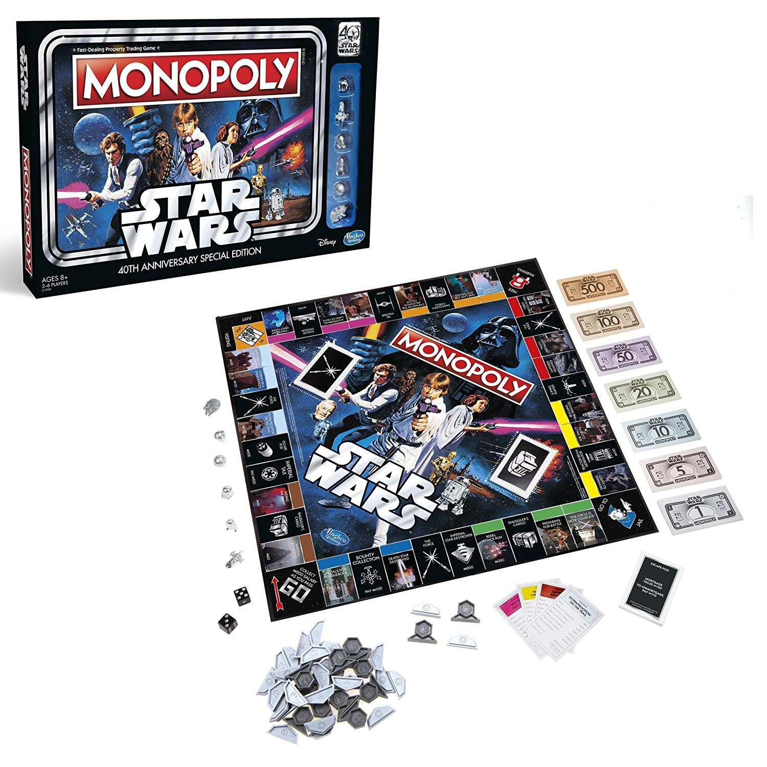 Monopoly: 'Star Wars' 40th Anniversary Special Edition
