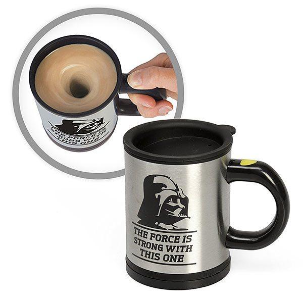 Darth Vader Self-Stirring Mug