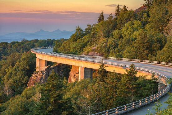 Blue Ridge Parkway, North Carolina
