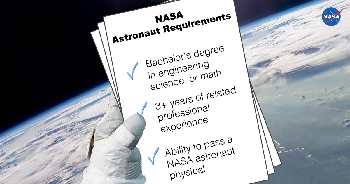 Astronaut requirements