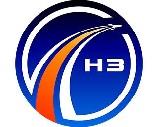 Logo mark for development of H3 Launch Vehicle created