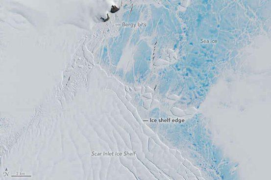 Larsen Ice Shelf in 2016