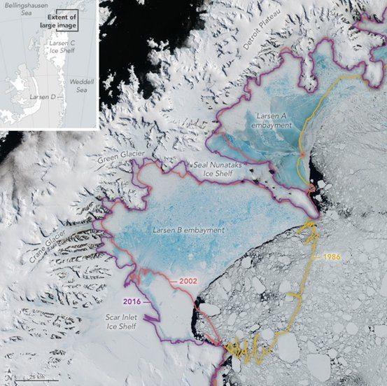 Larsen Ice Shelf