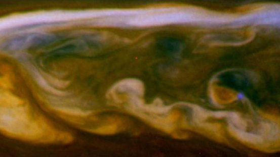 How deep do Saturn lightning storms reach, and are they powerful enough to drive Saturn's climate?