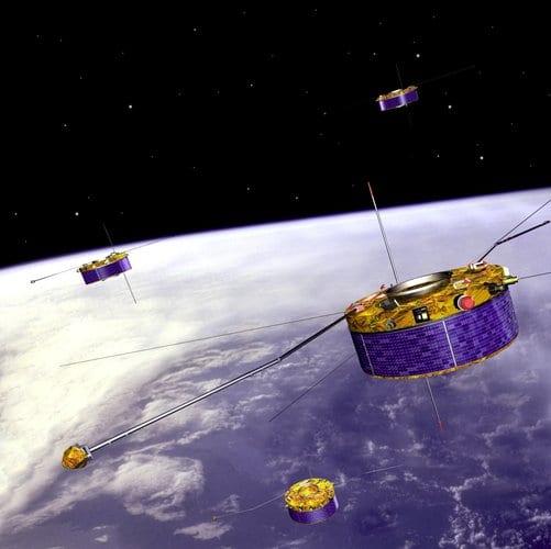4-satellite Cluster mission