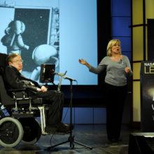 Stephen Hawking NASA 50th