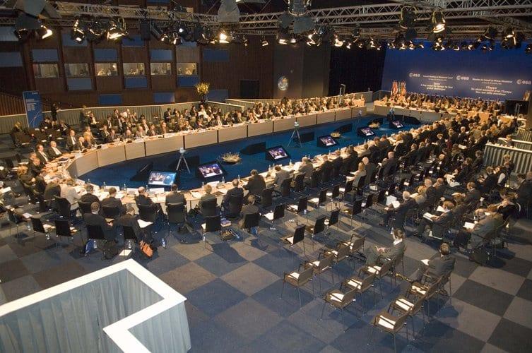 ESA Council at Ministerial Level, The Hague, November 2008