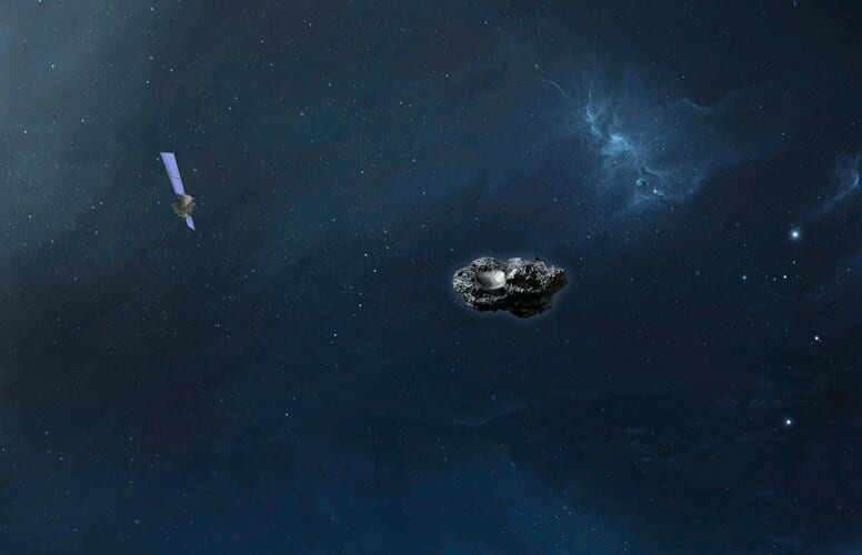 Hera and its asteroid target
