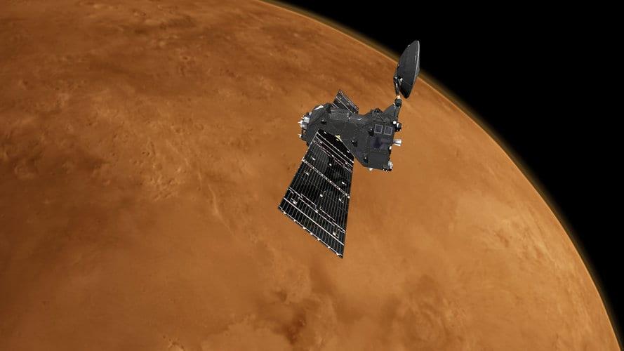 Trace Gas Orbiter at Mars